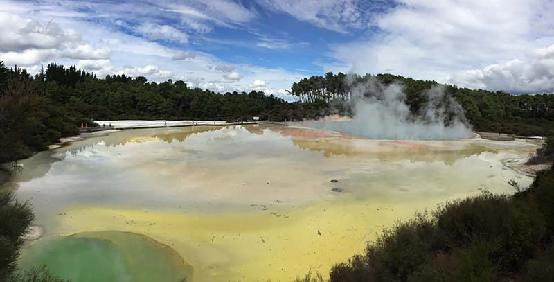 Thermisch wonderland in Rotorua, Nieuw-Zeeland