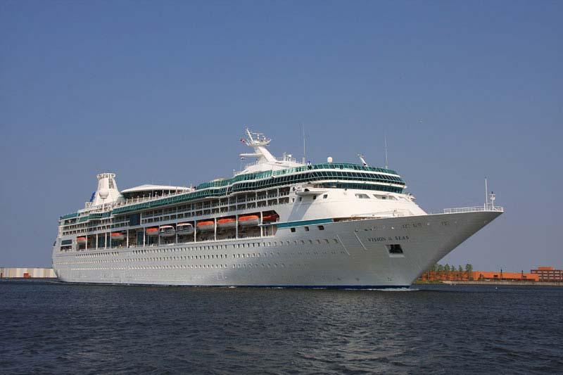 cruiseschip Vision of the Seas van Royal Caribbean International