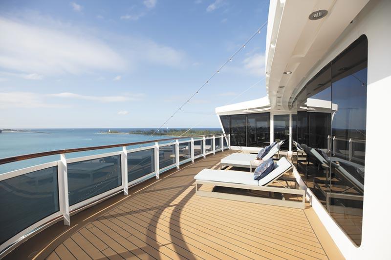 Seven Seas Explorer Regent Suite balkon - Regent Seven Seas Cruises