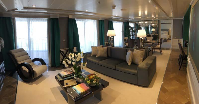 Interieur foto's van cruiseschip Seven Seas Splendor van Regent Seven Seas Cruises