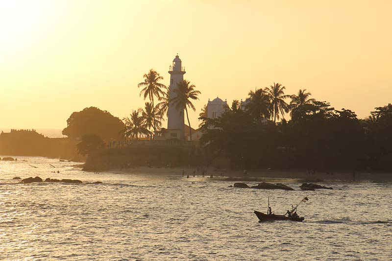 Vertrek uit Galle, Sri Lanka met de Silver Discoverer van Silversea Expedition Cruises