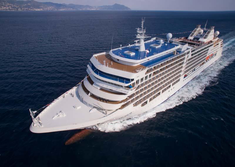 cruiseschip Silver Muse van Silversea Cruises