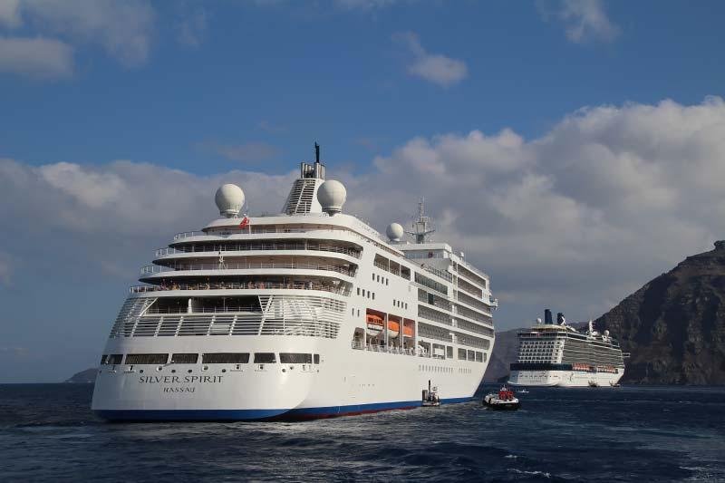 cruiseschip Silver Spirit van Silversea Cruises