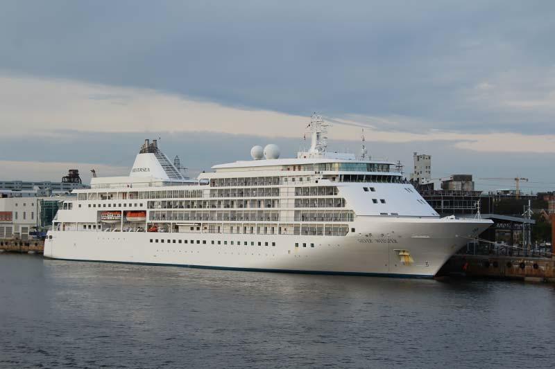 cruiseschip Silver Whisper van Silversea Cruises