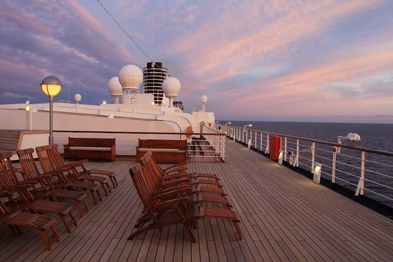 Vertrek uit Stavanger Noorwegen met de Westerdam van Holland America Line