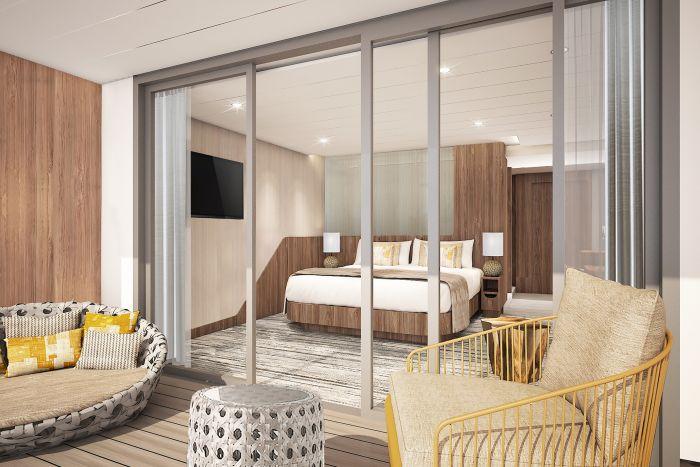 Celebrity Flora Galapagos cruises - Sky Suite