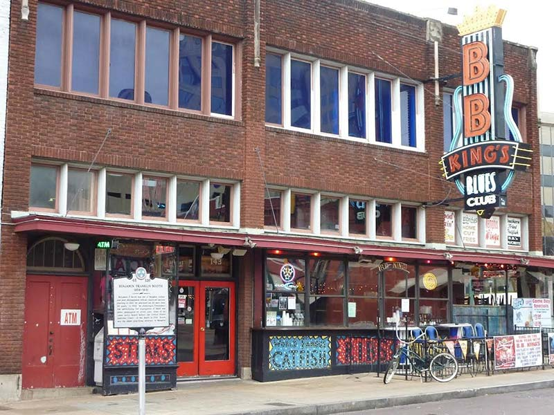 BB King's Blues Club in Beale Street, Memphis