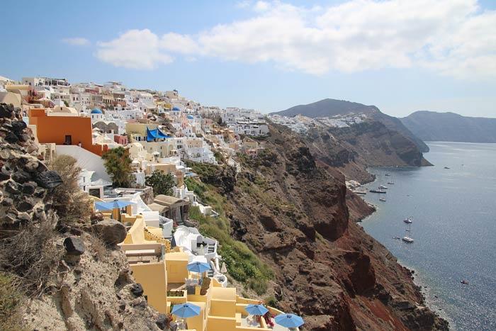Foto's van Oia en Thera Santorini