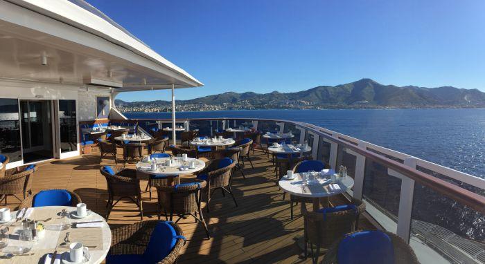 seven seas explorer restaurant overzicht