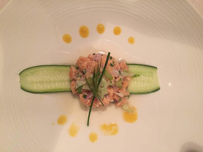 Silver Discoverer cruise schip - Diner in het restaurant
