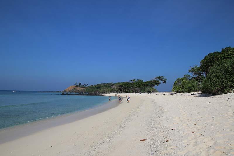Silver Discoverer cruise schip - North Cinque Island, Andaman Eilanden