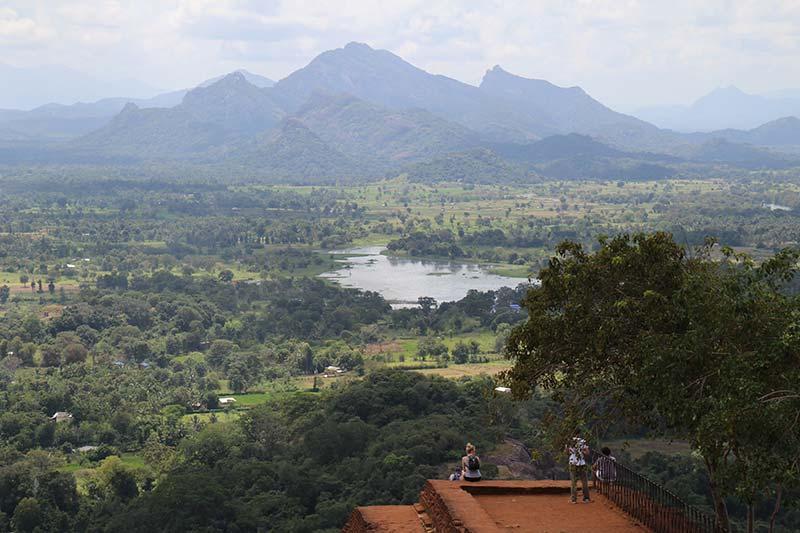 Silver Discoverer cruise schip - Sigiriya rots uitzicht