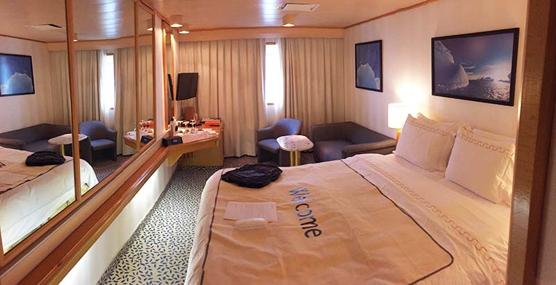 Silver Discoverer cruise schip - View Suite