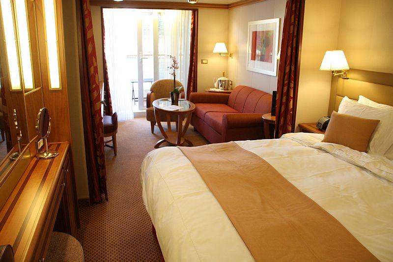 Silversea Cruises Silver Spirit Veranda Suite