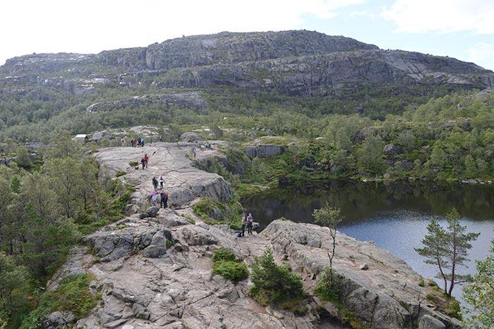Excursie van Stavanger naar Preikestolen