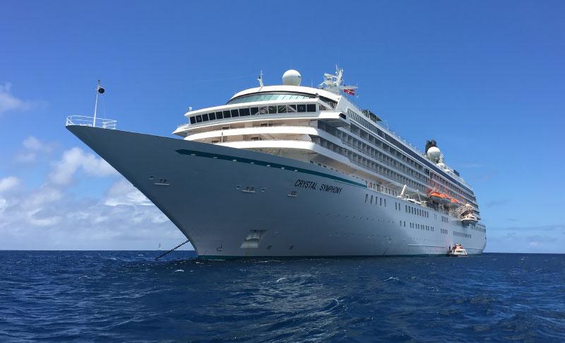 Vijf redenen om een cruise te maken met Crystal Cruises