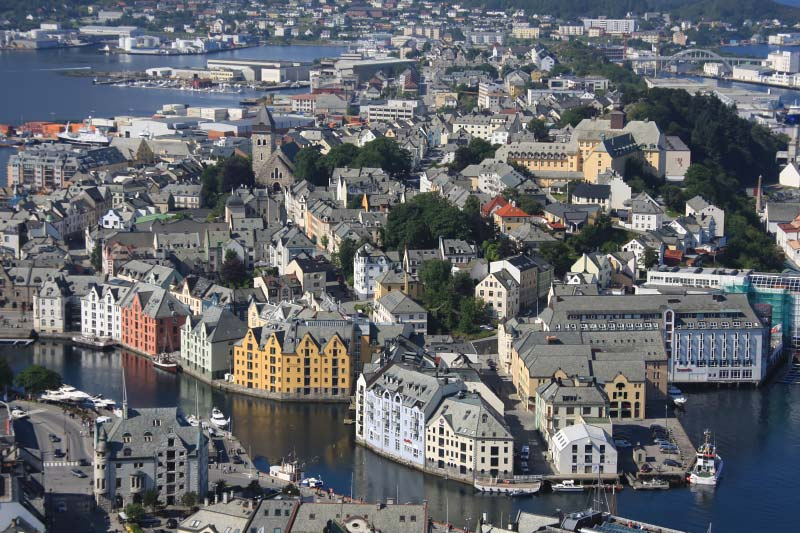 Tips en foto's: een dag in Alesund, Noorwegen voor cruisepassagiers