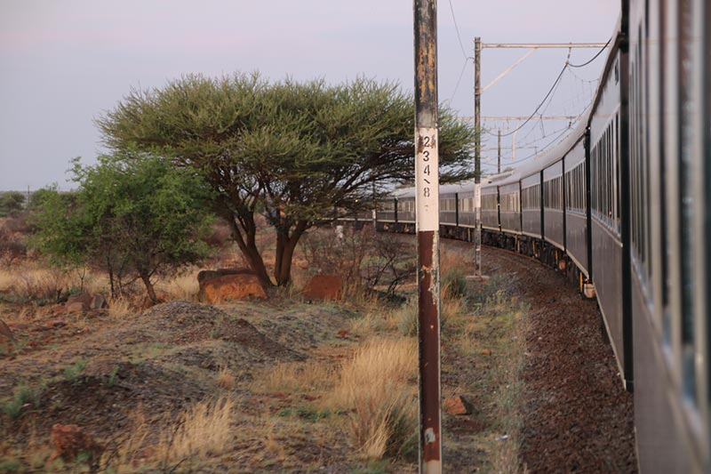 Reisverslag: The Pride of Africa. Per luxe Rovos Rail trein door Zuid-Afrika