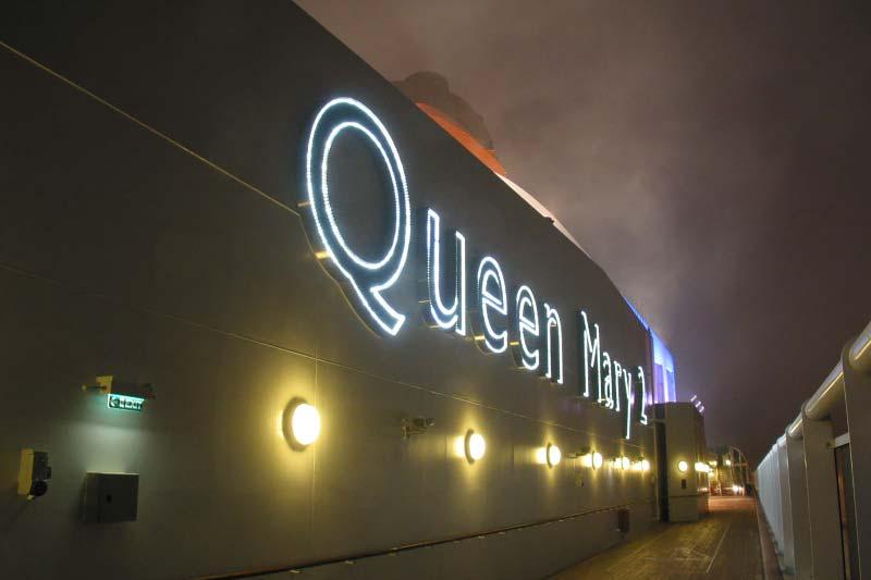 Zeventien jaar terug in de tijd: kennismaking met Queen Mary 2