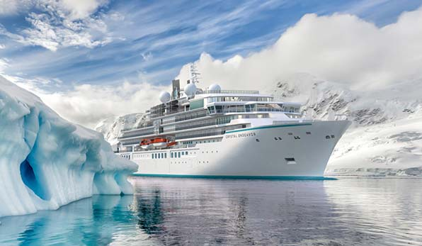 Crystal Endeavor: nieuw expeditieschip van Crystal Cruises
