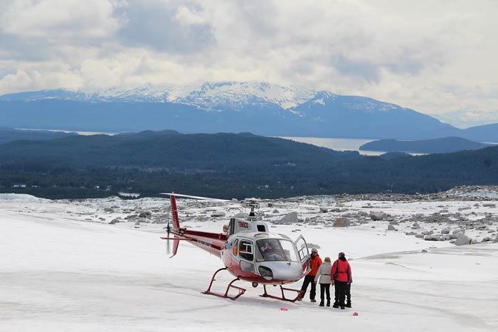 Op excursie: per helikopter naar de Mendenhall Gletsjer
