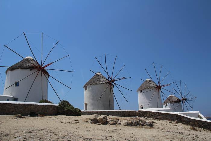 Fotoalbum: een dag in Mykonos Stad
