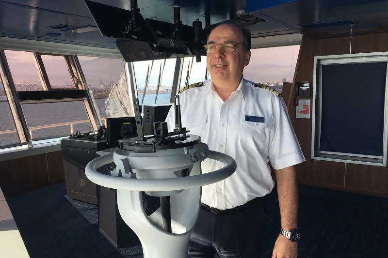 Holland America Line benoemt kapitein voor nieuwe cruiseschip Rotterdam