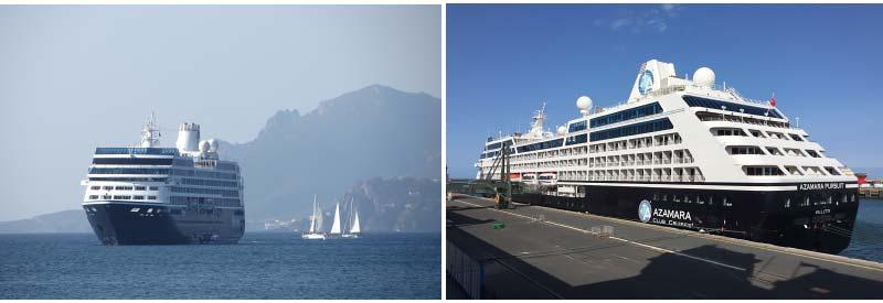 Waar zijn de cruiseschepen van Azamara nu?