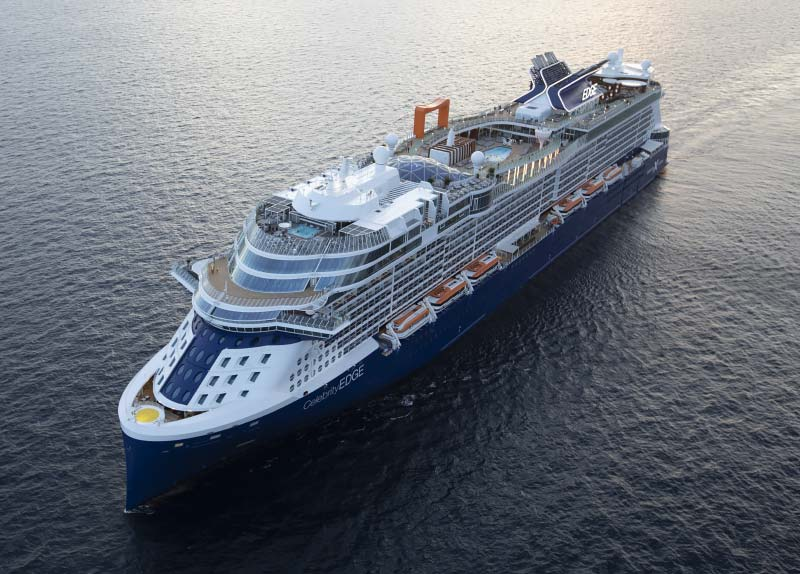Cruiseschip in focus: Celebrity Edge in 15 foto's