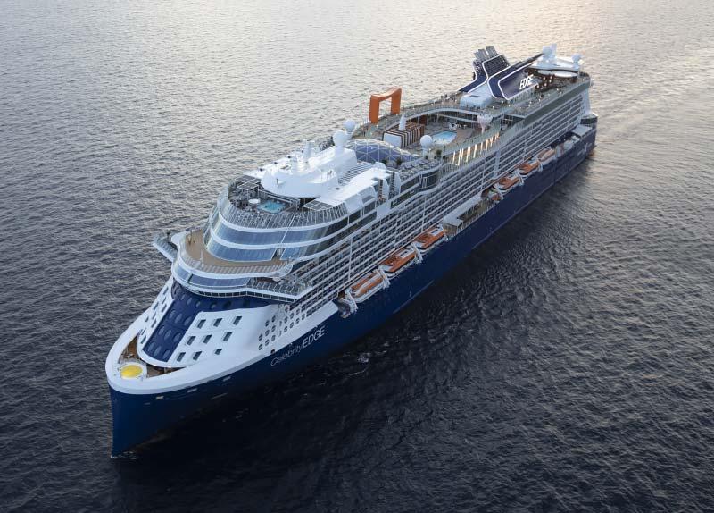 Cruiseschip in focus: Celebrity Edge in 15 foto's