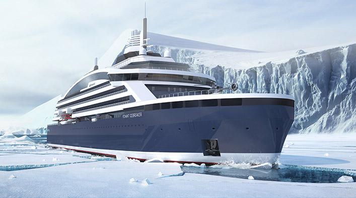 Nieuw van Ponant: luxe cruises op een ijsbreker
