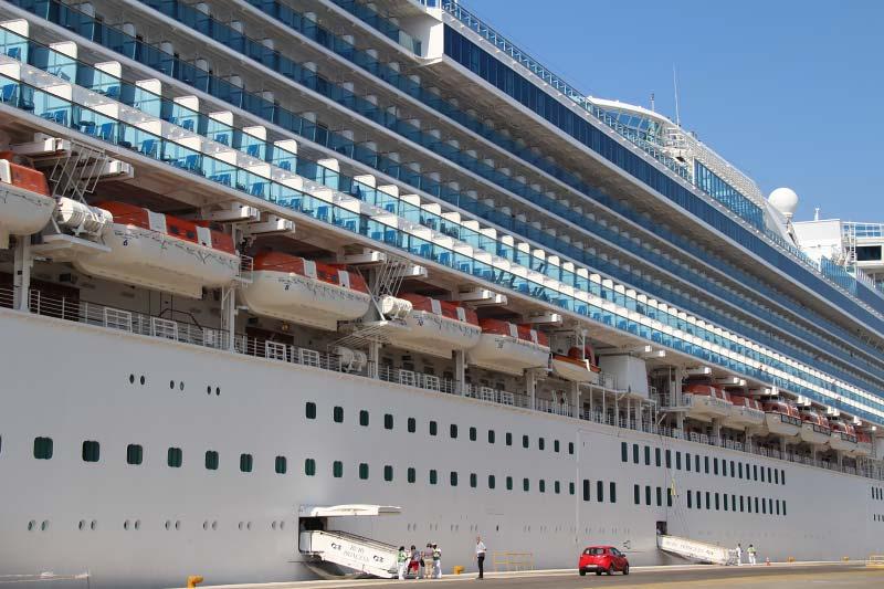 Amerikaanse autoriteiten raden het maken van een cruise tijdelijk af
