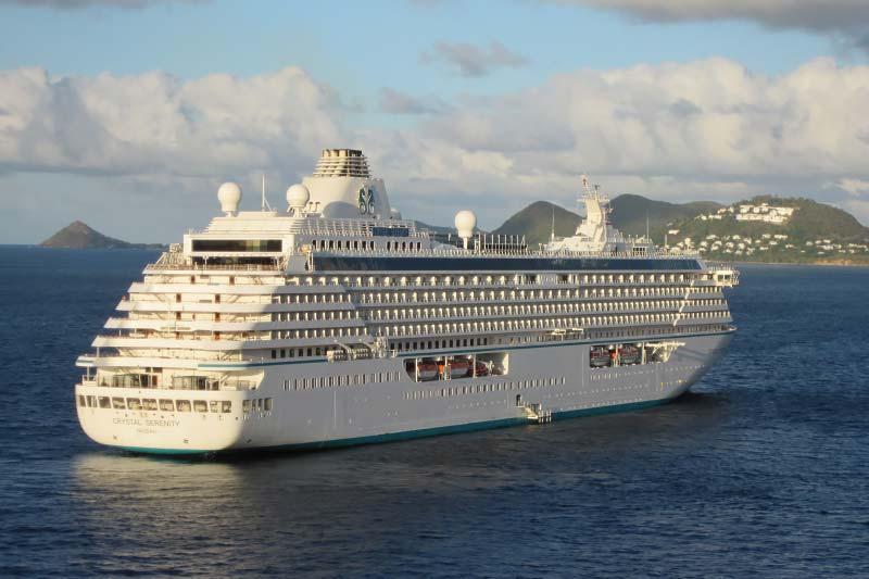 Vaccinatie verplicht voor passagiers van Crystal Cruises