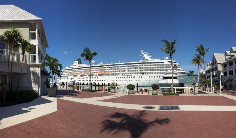 Key West wil geen grote cruiseschepen meer ontvangen