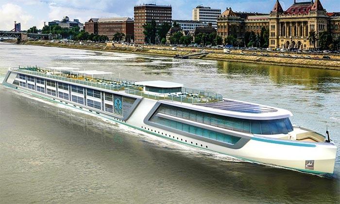 Crystal Cruises verwelkomt nieuw rivierschip: Crystal Bach