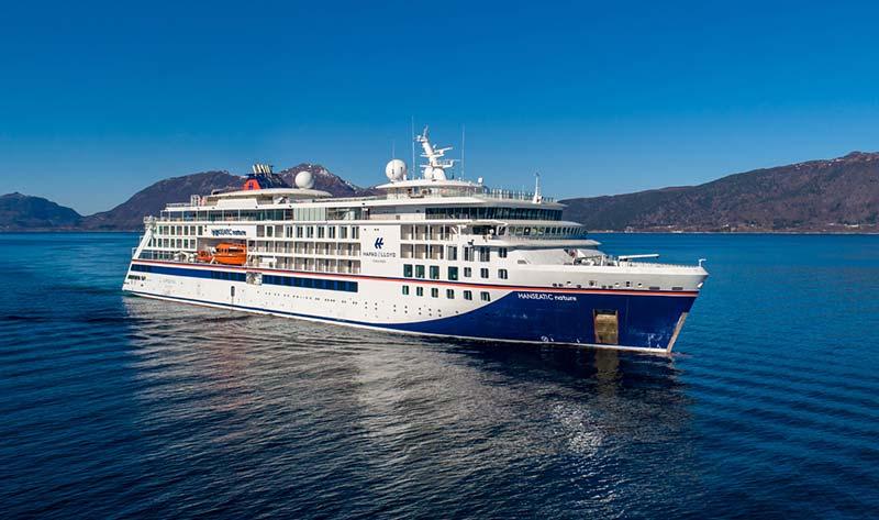 Virtuele rondleiding over de nieuwe HANSEATIC nature van Hapag-Lloyd Cruises
