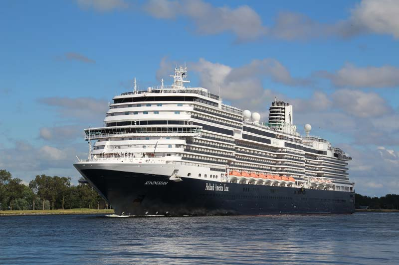 Holland America Line annuleert cruises tot 30 april 2021