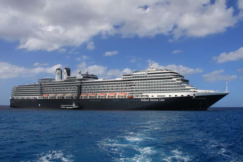 Holland America Line wijzigt cruises voor het najaar