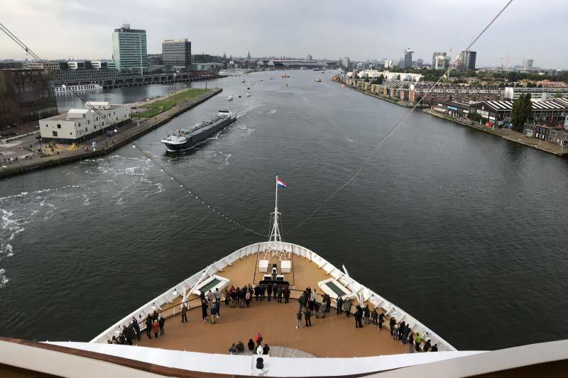 Onze foto's van Holland America Line's nieuwe Rotterdam