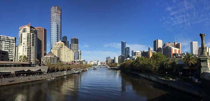 Een wandeling door Melbourne, Australië