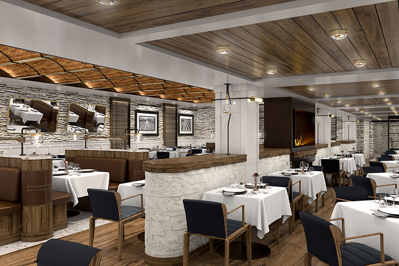 Alle restaurants op het nieuwe cruiseschip Vista van Oceania Cruises