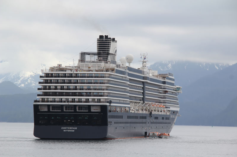 Holland America Line stopt tijdelijk met de verkoop van langere cruises naar Amerikaanse havens