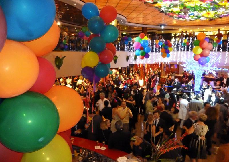 Acht jaar terug in de tijd: oud en nieuw vieren op een cruiseschip!