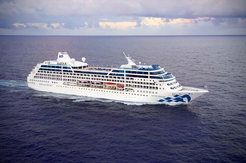 Cruiseschip Pacific Princess verkocht aan Azamara