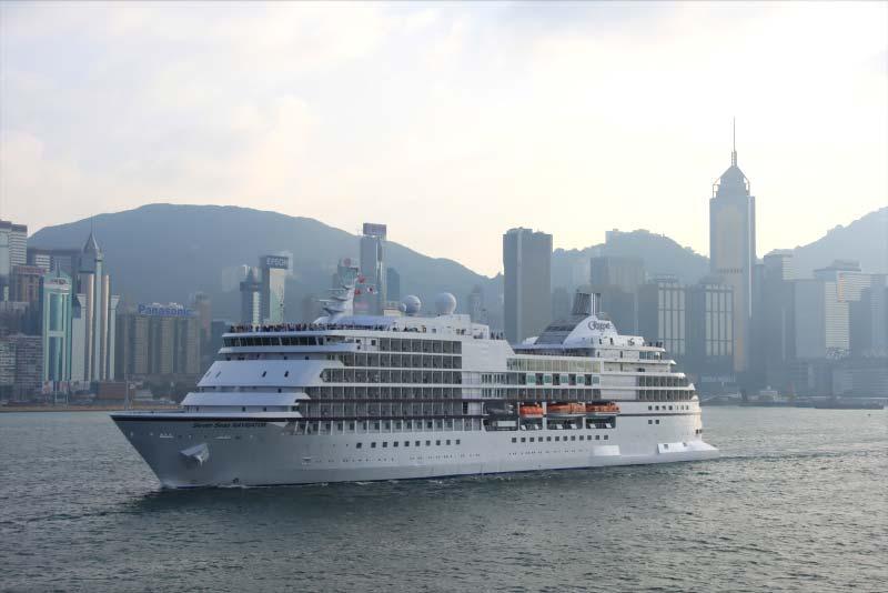 Waar zijn de cruiseschepen van Regent Seven Seas Cruises nu?