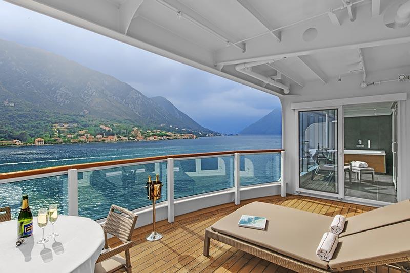 Suite Top 10: de grootste en mooiste cruise schip suites