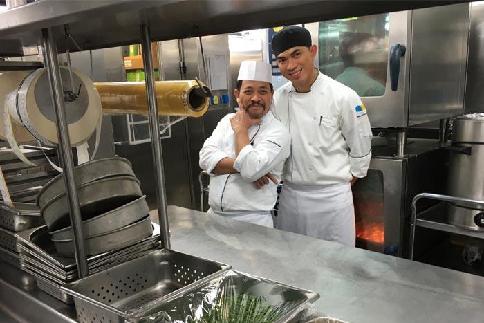 Een kijkje in de keuken op de Seabourn Quest