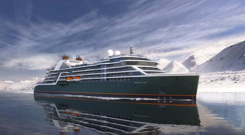Seabourn kondigt de naam aan van nieuw luxe expeditieschip
