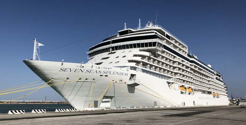 Reisverslag: de eerste cruise van Regent's nieuwe cruiseschip Seven Seas Splendor