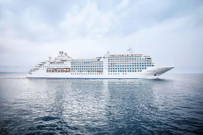Silversea Cruises maakt plannen bekend voor herstart in de Middellandse Zee